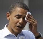 Obama-sweating